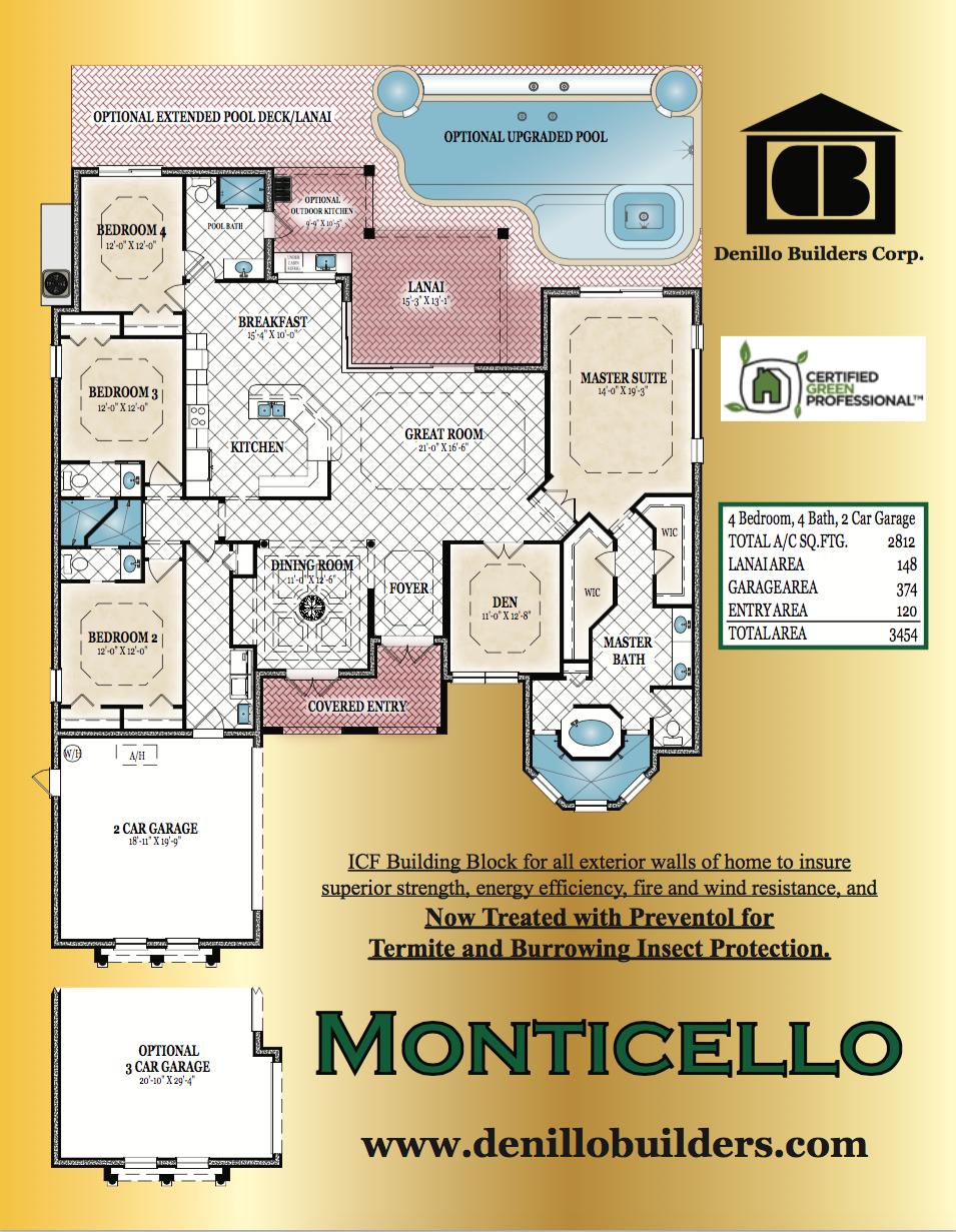 Denillo builders monticello by denillo builders for Share builders plan
